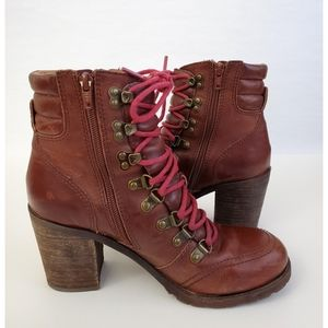 Lucky Brand Brown Ankle Boots/Booties 9.5M